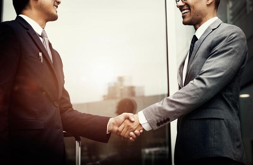 Corporate businessmen